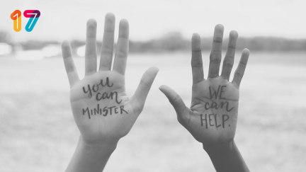 """""""You can minister. We can help."""""""