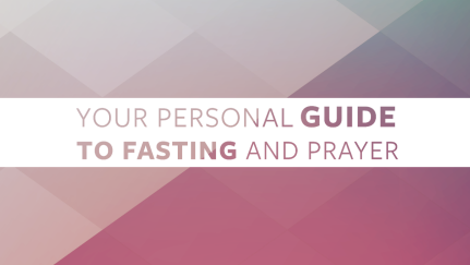 Personal Guide to Prayer & Fasting